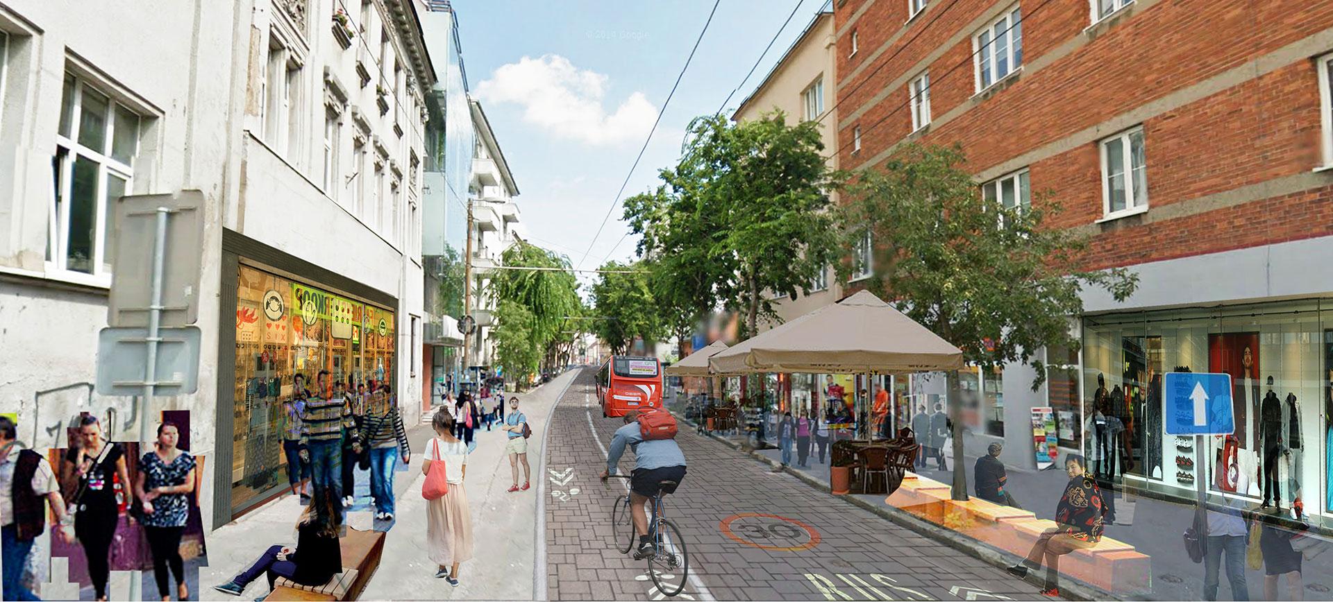 Mickiewiczova môže byť príjemnou ulicou