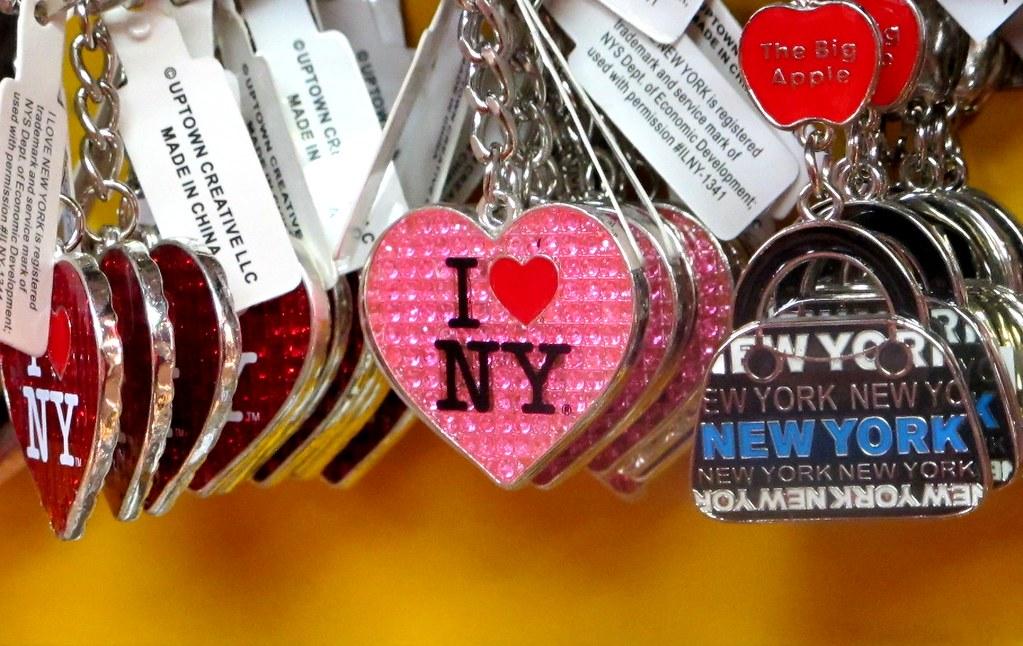 O city brandingu a tričkách z New Yorku